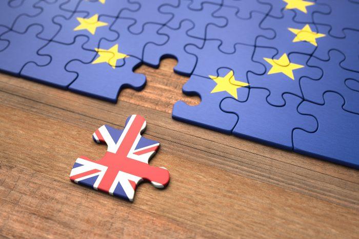 Brexit - United Kingdom European Union Puzzle Pieces