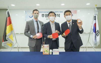 FitLine offizieller Ausrüster des Koreanischen Tischtennis-Verbands