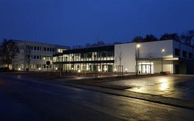 Video: Neubau des Zentrums für Weiterbildung in Landau