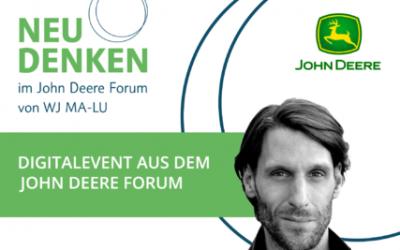 NEUDENKEN im John Deere Forum