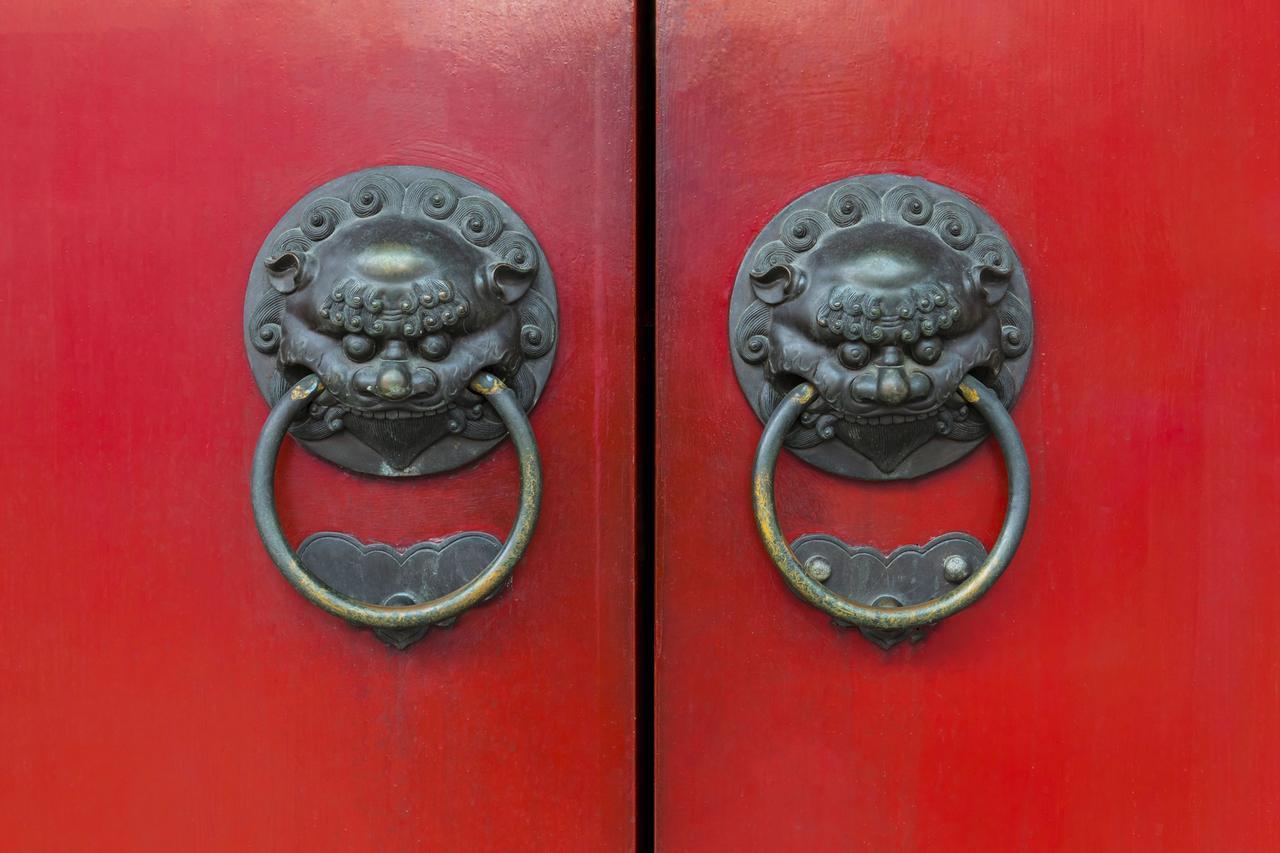 alte chinesische Tür
